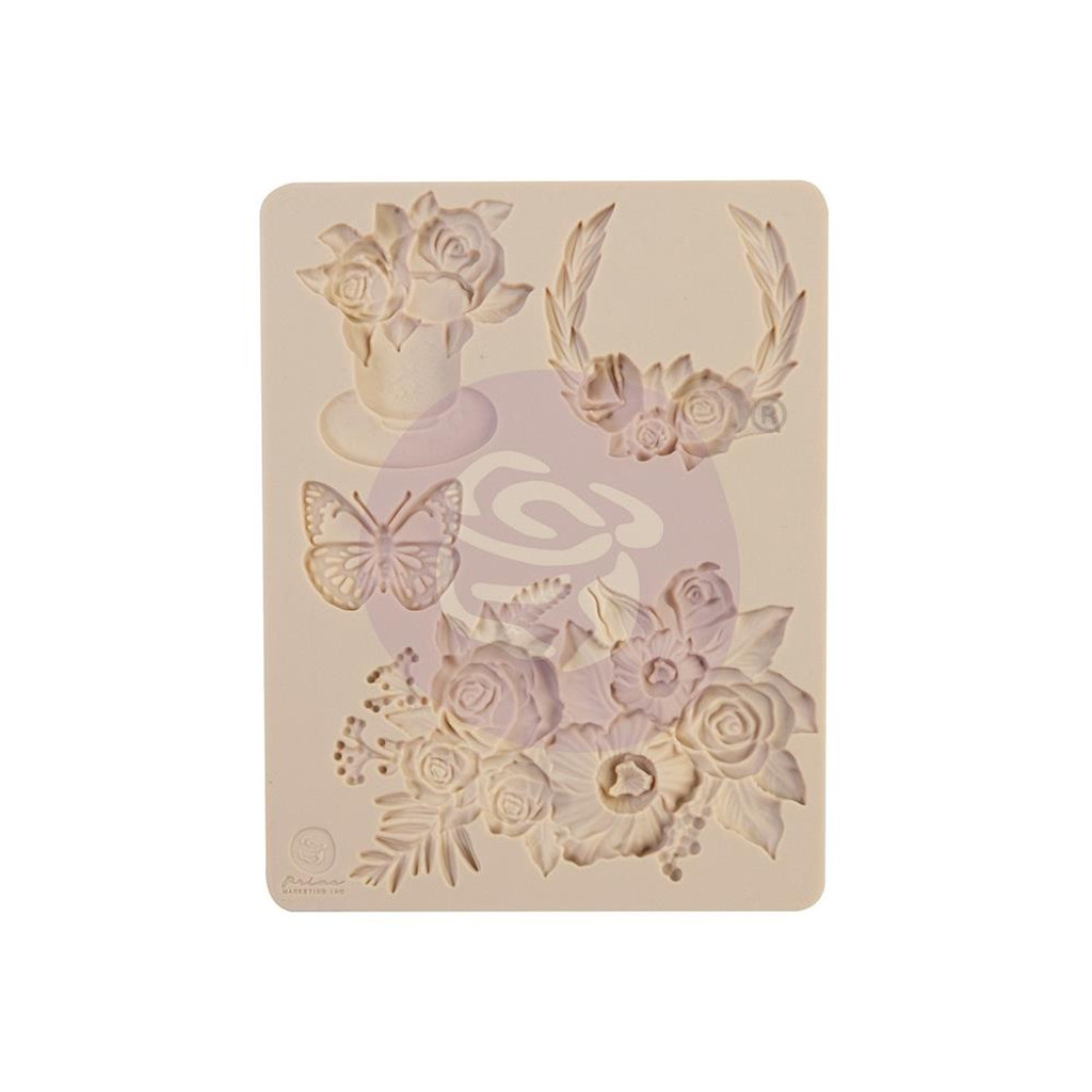 "Prima - Decor Mould 3.5""X4.5""X8mm - Pretty Mosaic (647971)"
