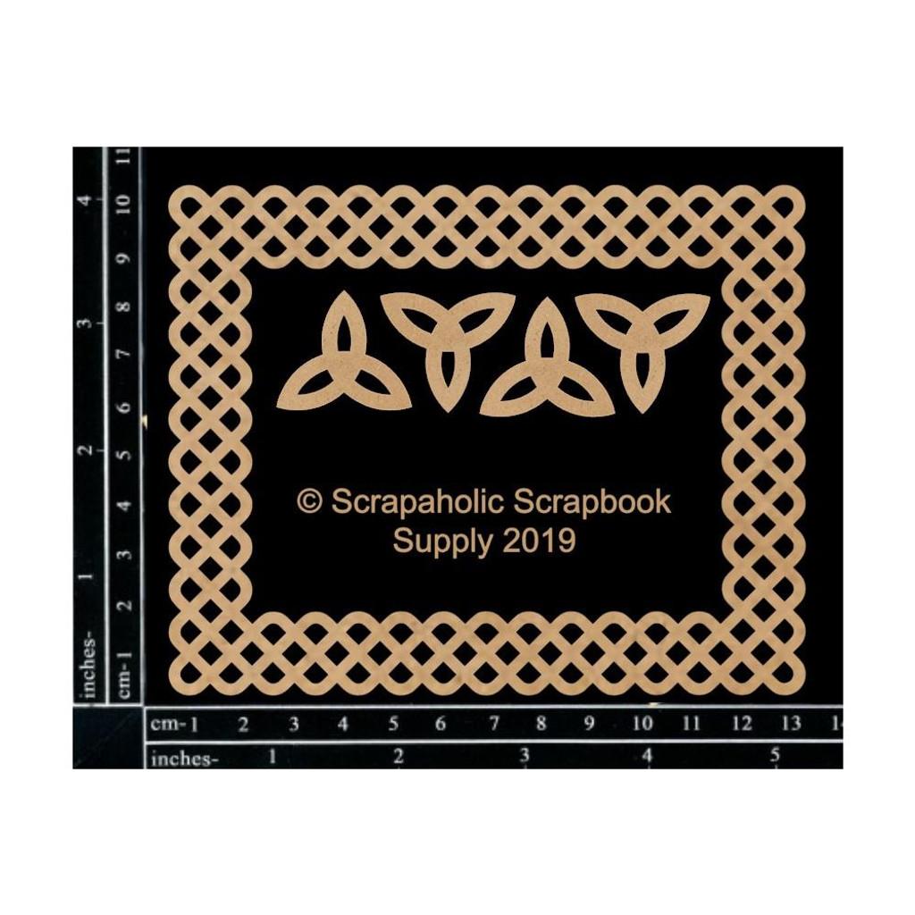 Scrapaholics - Laser Cut Chipboard - Celtic Frame (S52040)
