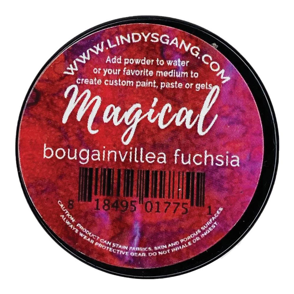 Lindy's Stamp Gang - Magicals Individual Jar - Bougainvillea Fuchsia (MAG JAR 01)