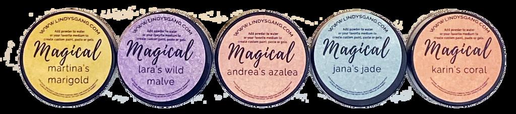 Lindy's Stamp Gang - Magicals Set - Alexandra's Artist (MAGICAL 15)