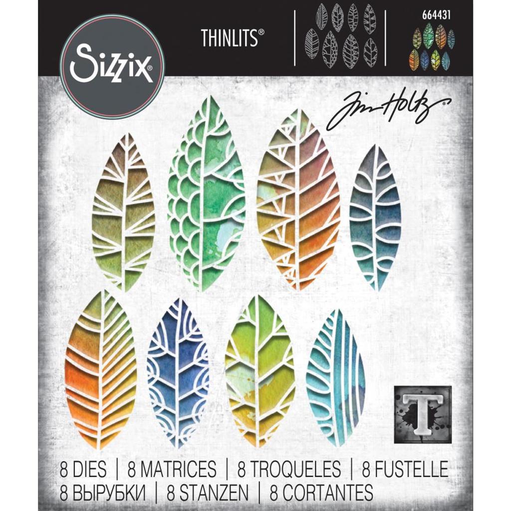 Sizzix - Tim Holtz - Thinlits Dies - Cut-Out Leaves (664431)