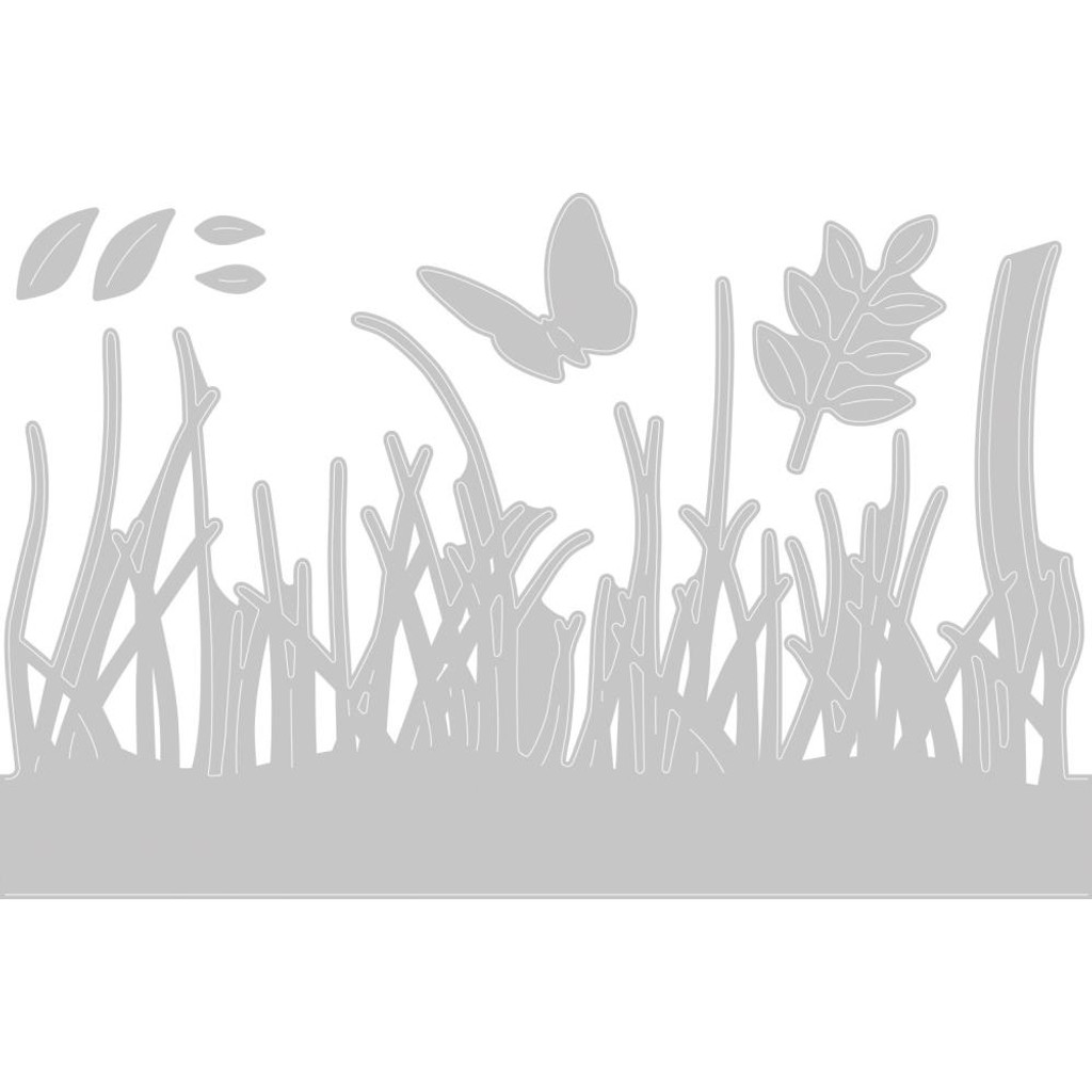izzix - Sharon Drury - Thinlits Die 4PK - Springtime Borders (664382)