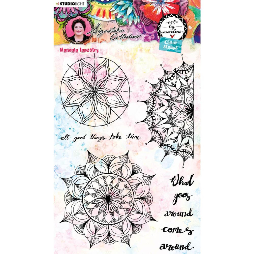 Studio Light - Art By Marlene 5.0 Signature Collection - Cling Stamp - NR. 48 (MPBM48)