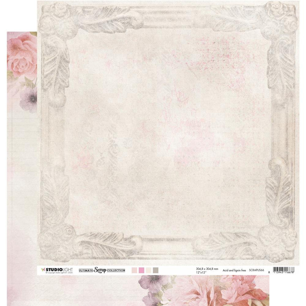 Studio Light - 12 pc Paper Collection 12x12 - Ultimate Scrap Collection