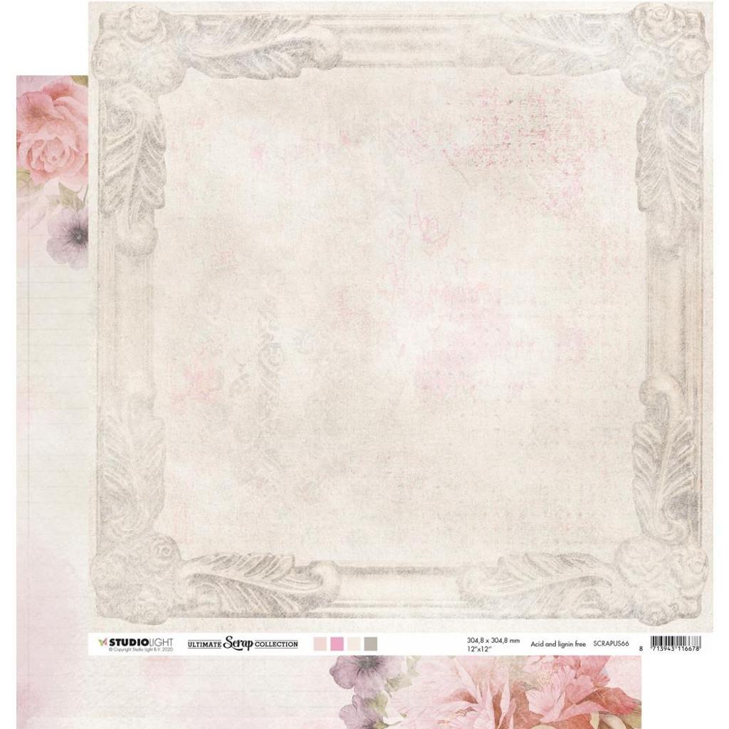 "Studio Light - Double-Sided Cardstock 12""X12"" - Ultimate Scrap Collection - NR. 66 (RAPUS66)"