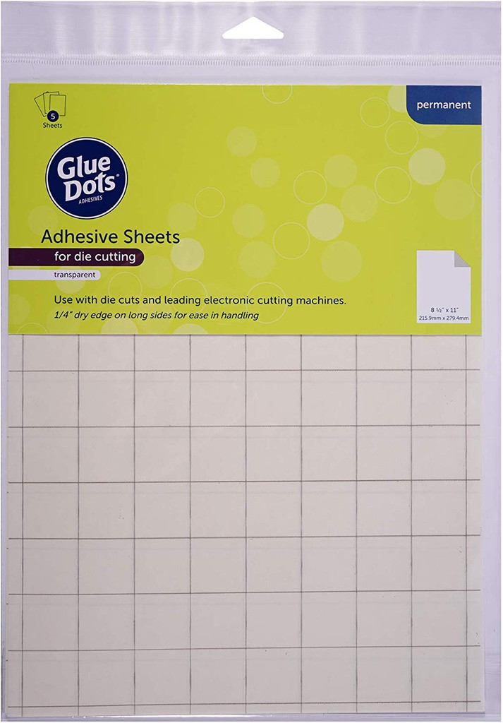 Glue Dots - Adhesive Sheets for Die Cutting - Permanent (72554)
