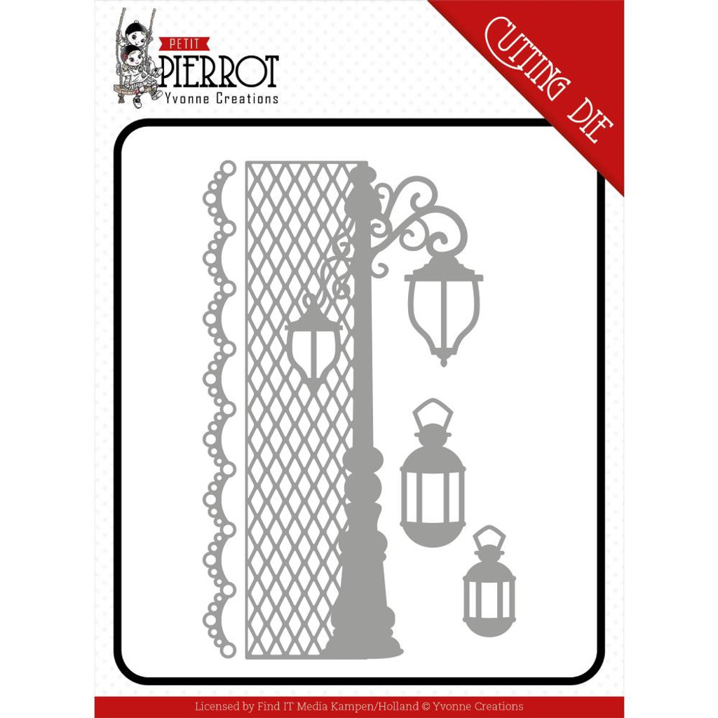 Find It Trading - Yvonne Creations - Petit Pierrot - France Lantern (YCD10197)