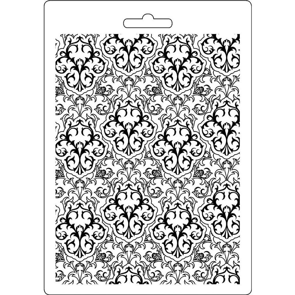 """Stamperia Soft Maxi Mould 5.75""""X8.25"""" - Wallpaper (K3PTA546)"""