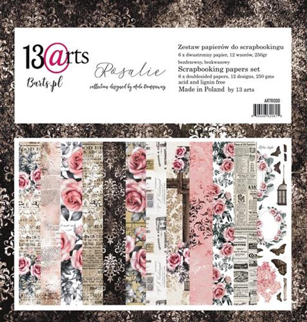 13@rts - 12x12 Paper Collection 6/Pkg - Rosalie (ARTR000)