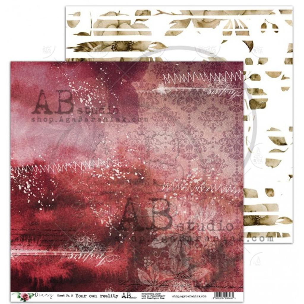 AB Studios - Collection Kit 12x12 - Diary (DIA-Col)