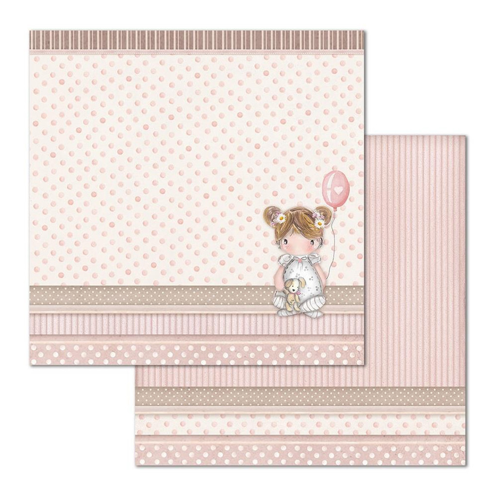 Stamperia - Collection Paper Pad 12 x 12 - Little Girl (SBBL67)