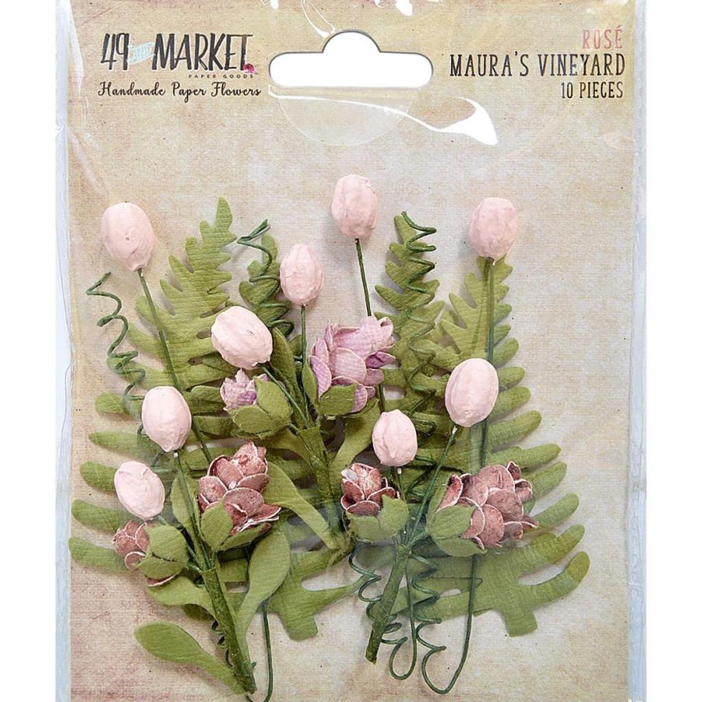 49 and Market - Maura's Vineyard 10/Pkg - Rose (49MV 32457)