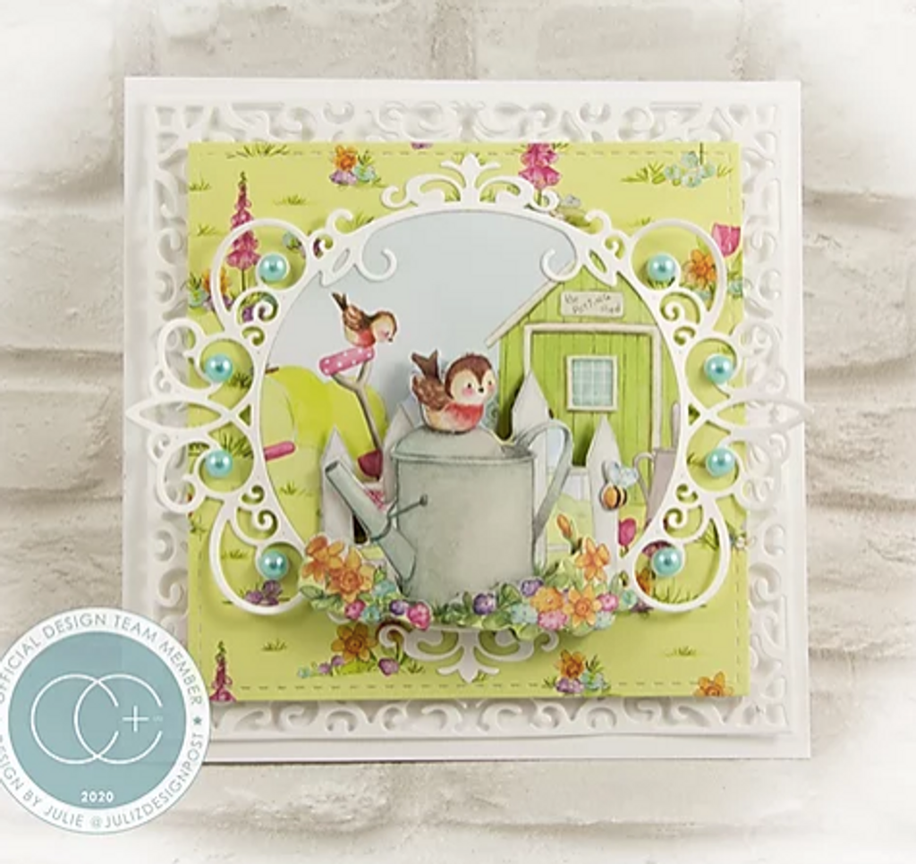 Craft Consortium - Double Sided Paper Pack 12x12 - Cottage Garden (PAD016)