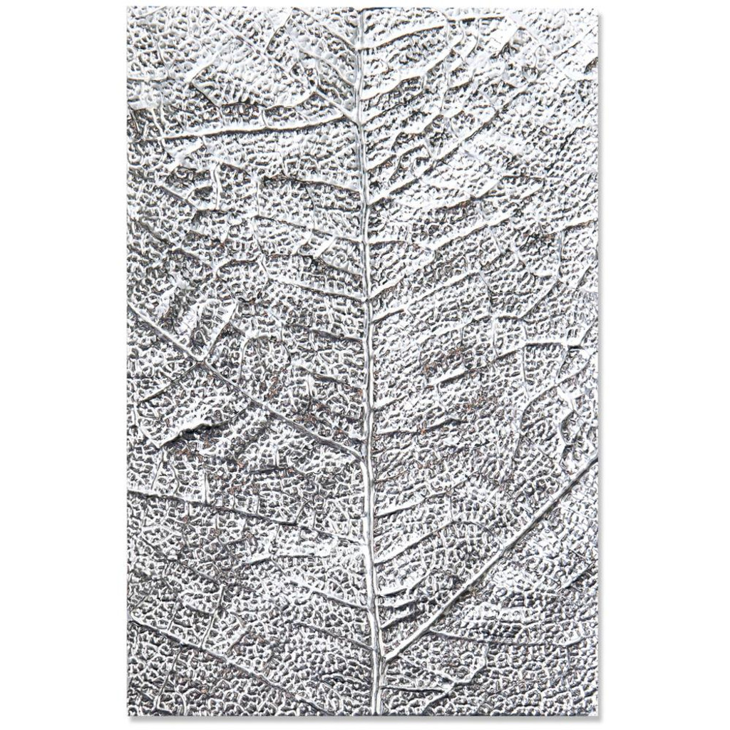 Sizzix - 3-D Textured Impressions Embossing Folder - Leaf Veins (664488)