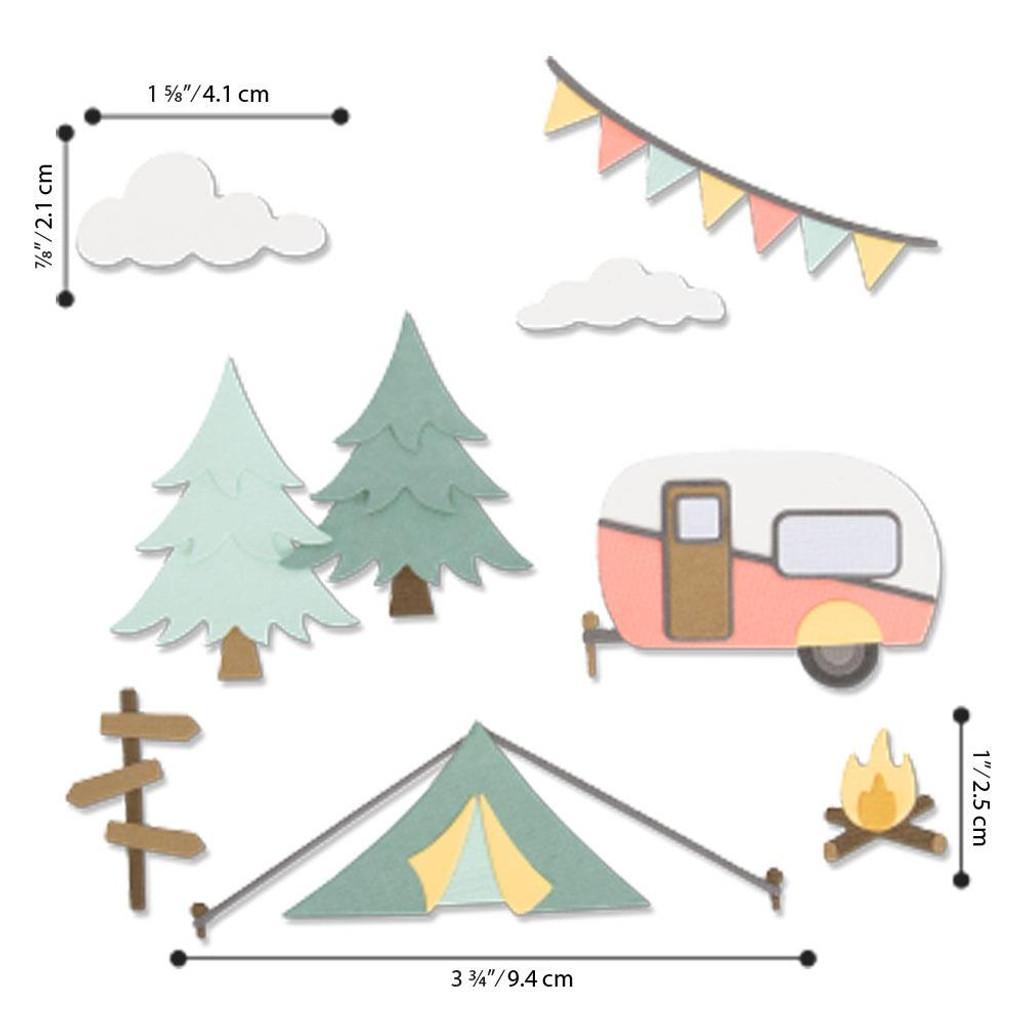 Sizzix - Kath Breen - Thinlits Die Set 17/Pkg - Great Outdoors (663856)