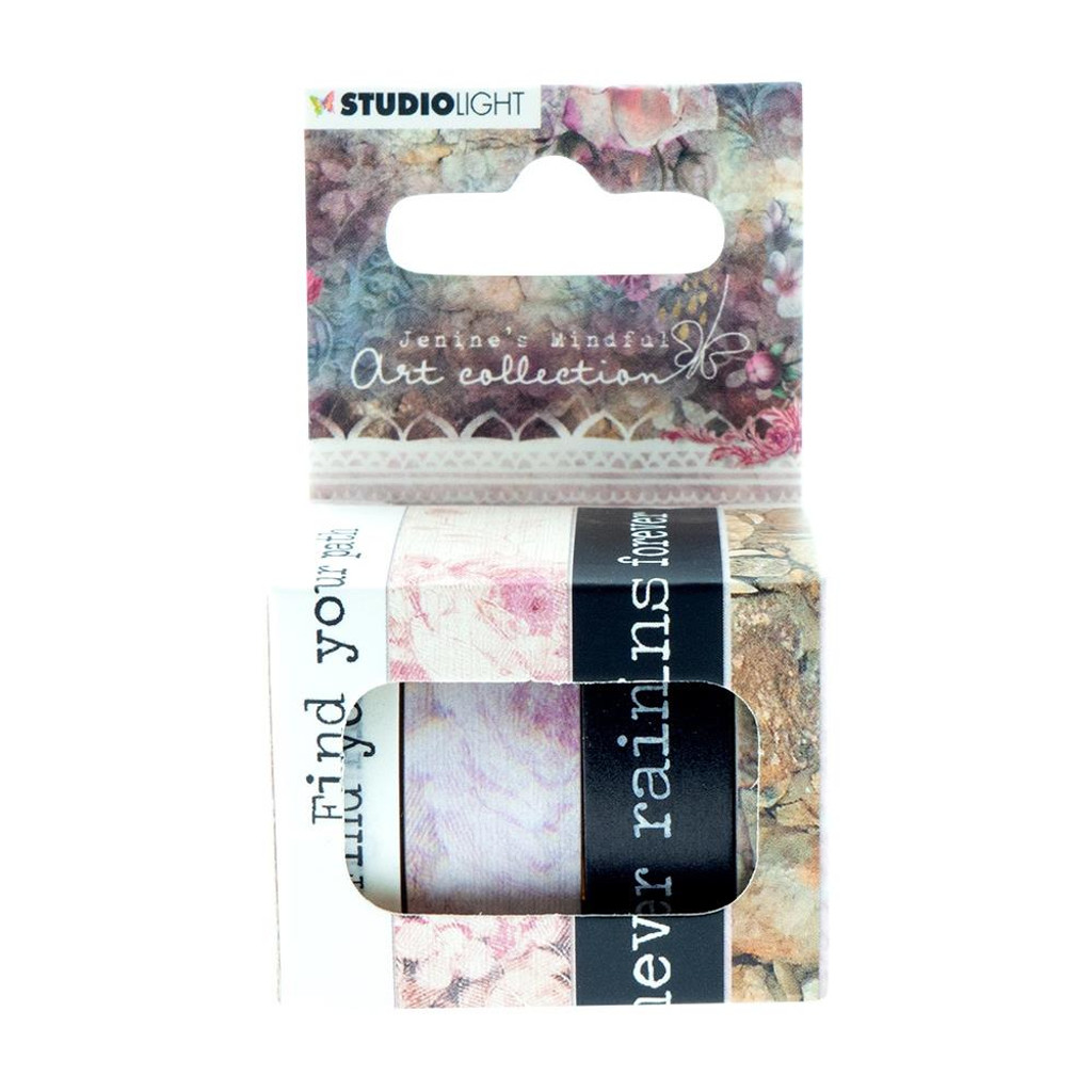 Studio Light - Jenine's Mindful Art 3.0 - Washi Tape 4/Pkg - No1 (SHIJMA01)