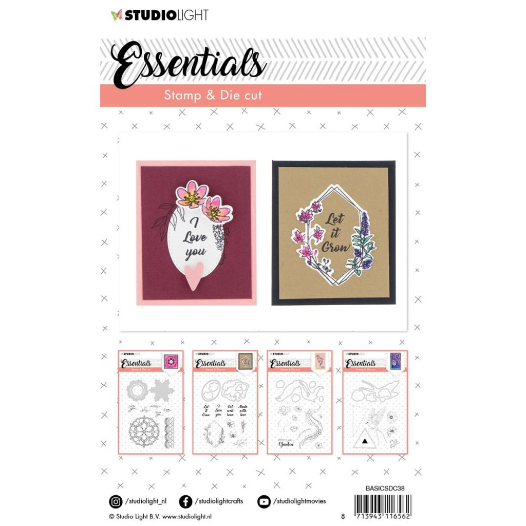 Studio Light - Essentials Cutting & Embossing Die - BASIC38 (BASIC38)