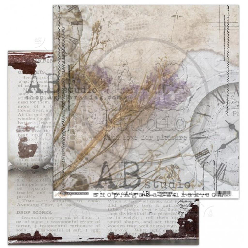 AB Studios - Collection Kit 12x12 - Rustical Journey (RJ-Col)