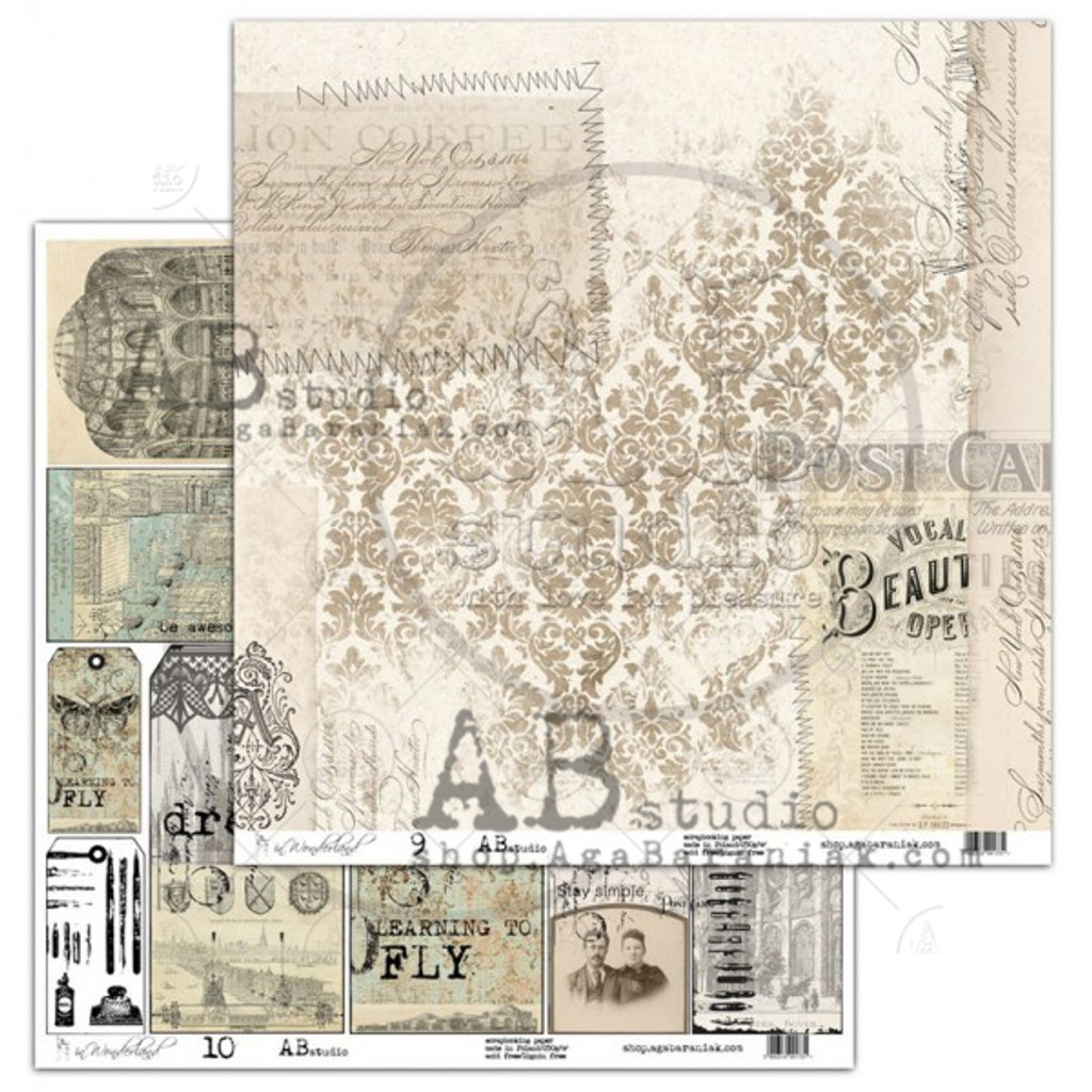 AB Studios - Collection Kit 12x12 - In Wonderland (IW-Col)