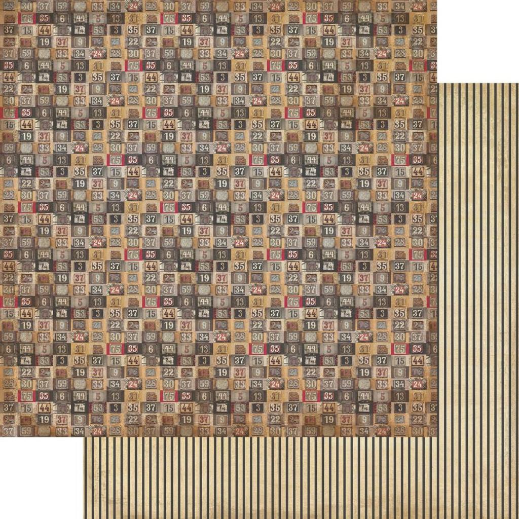 Authentique - Paper Pad 6x6 24/Pkg- Manly (MAN-010 )