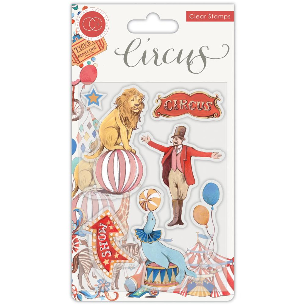 Craft Consortium - A5 Clear Stamps - Circus - The Circus (CSTMP033)