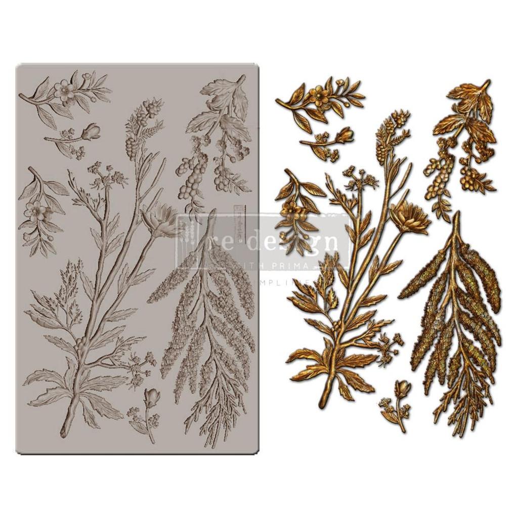 "Prima - Re-Design Mould 5""X8""X8mm - Herbology (647483)"