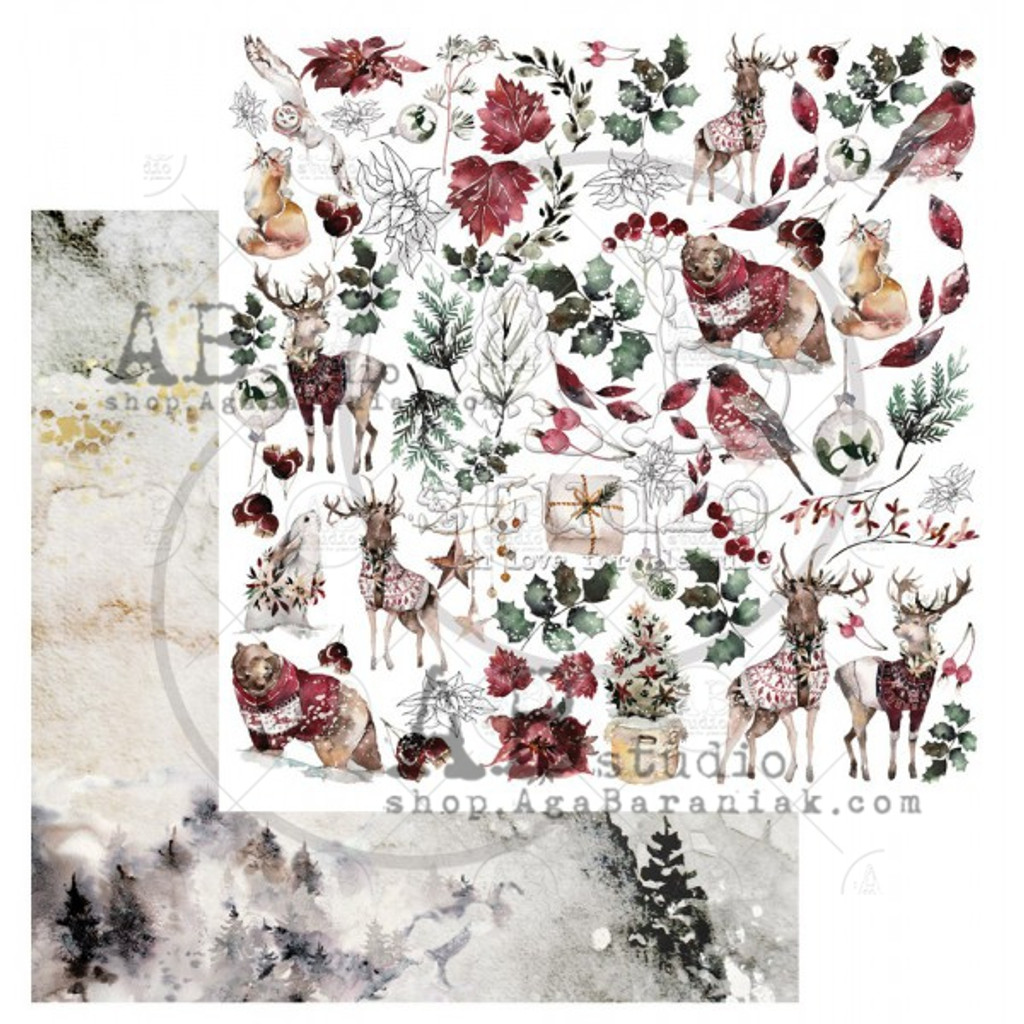 AB Studios - Collection Kit 12x12 - Breeze of the Forest (BOTF-Col)