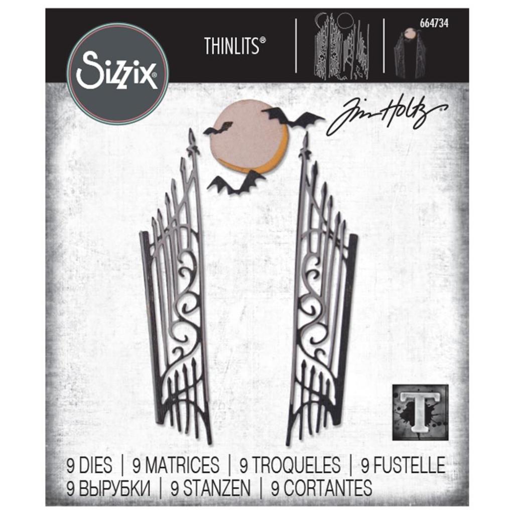 Sizzix Thinlits Die Set 9PK - Gate Keeper by Tim Holtz (664734)