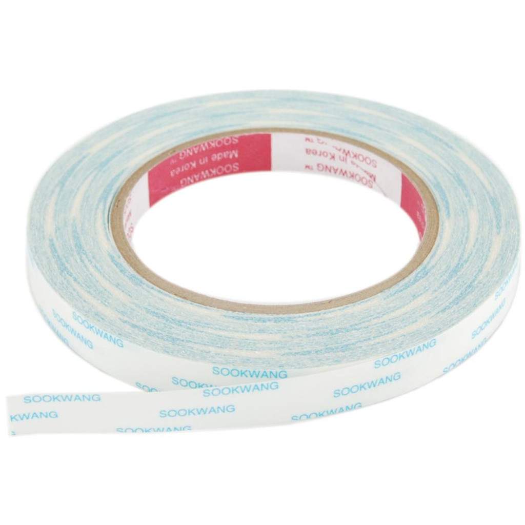 """SCOR-TAPE Double-Sided Tape - 1 roll 1/2""""x 27yrds"""