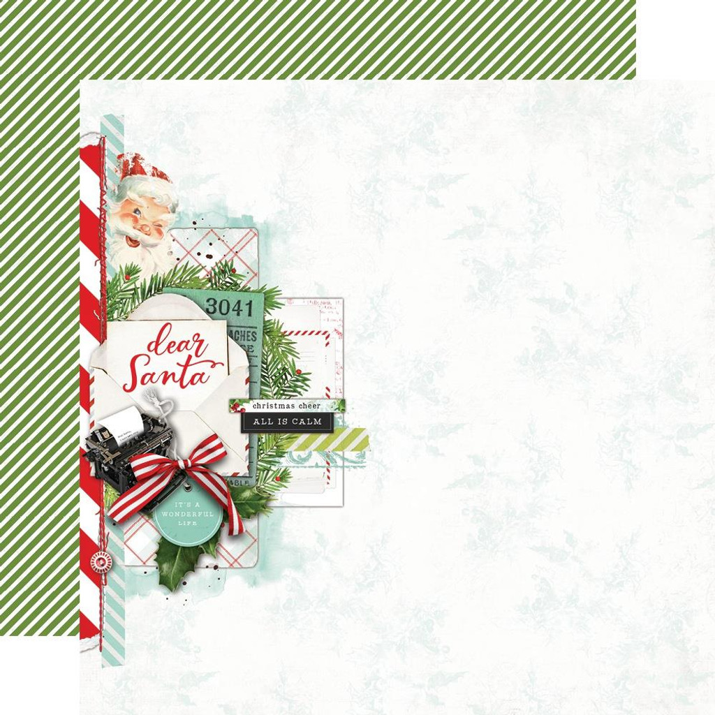 Simple Stories - 12x12 Paper Collection - North Pole (VNP13600)