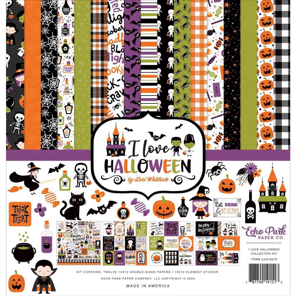 Echo Park - Collection Kit 12x12 - I Love Halloween (LH218016)