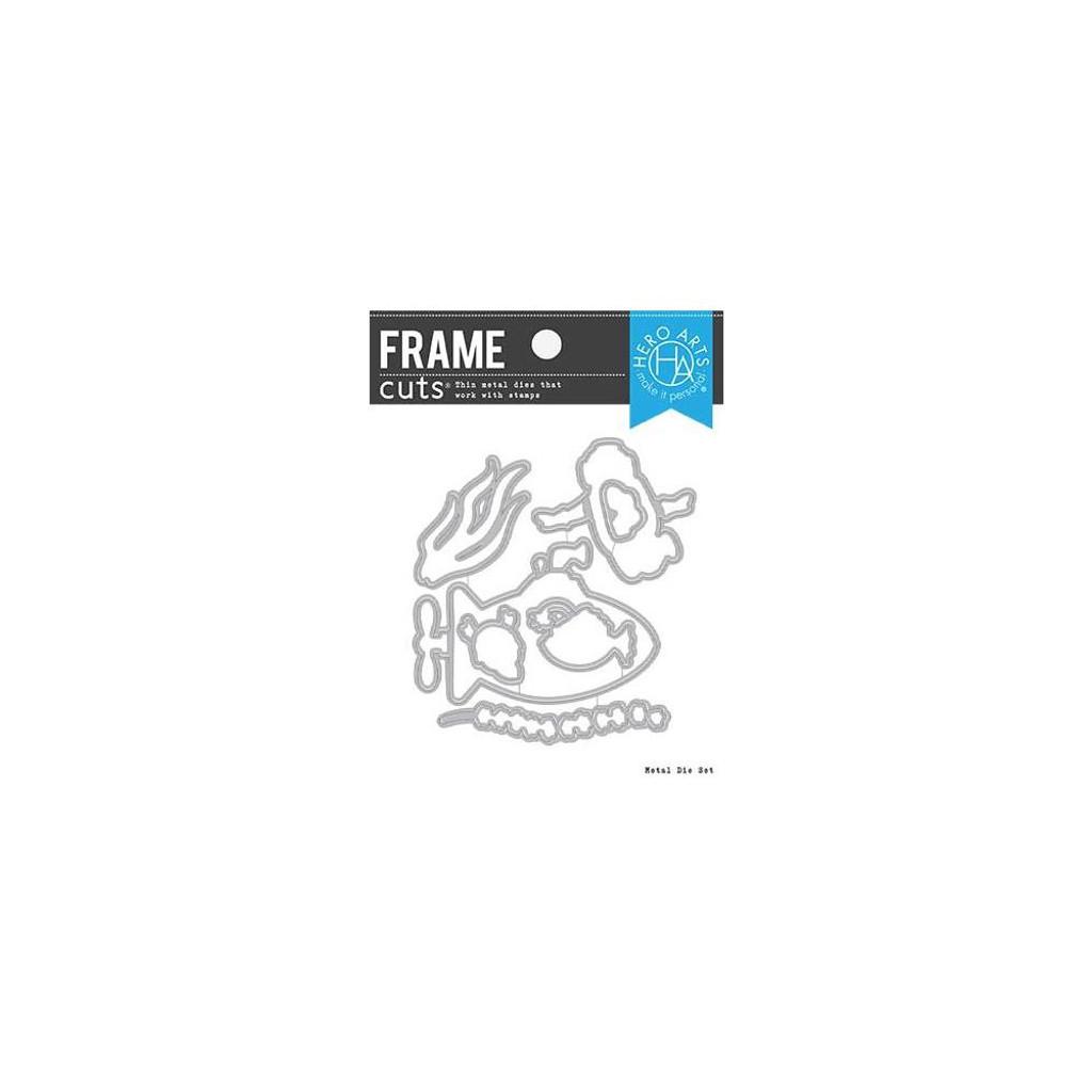 Hero Arts - Fancy Dies - Deeply In Love Frame Cuts (DI782)
