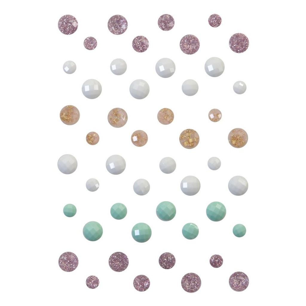 Prima Frank Garcia - Say It In Crystals 48/Pkg - Sugar Cookie (996543)
