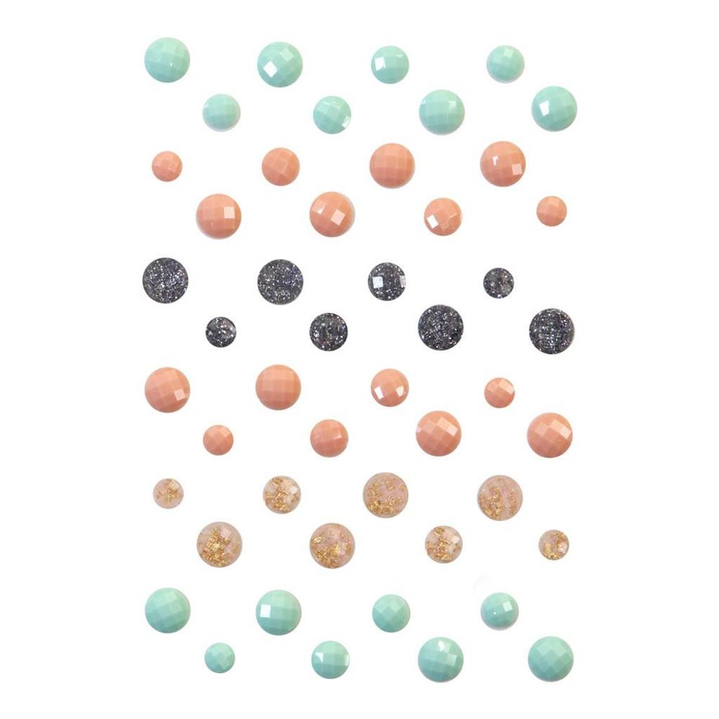 Prima - Say It In Crystals 48/Pkg - Pumpkin & Spice (647858)