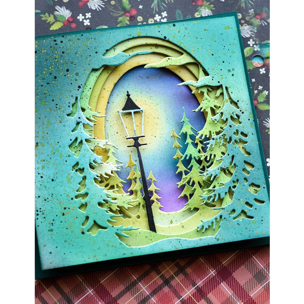 Memory Box Dies - Evergreen Sky Collage (MB94500)