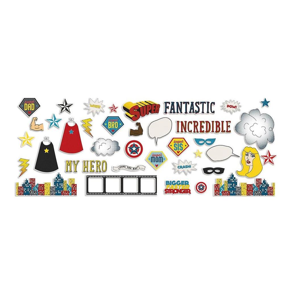 Fancy Pants - Ephemera Cardstock Die-Cuts - Sidekick Optional (SO40272)