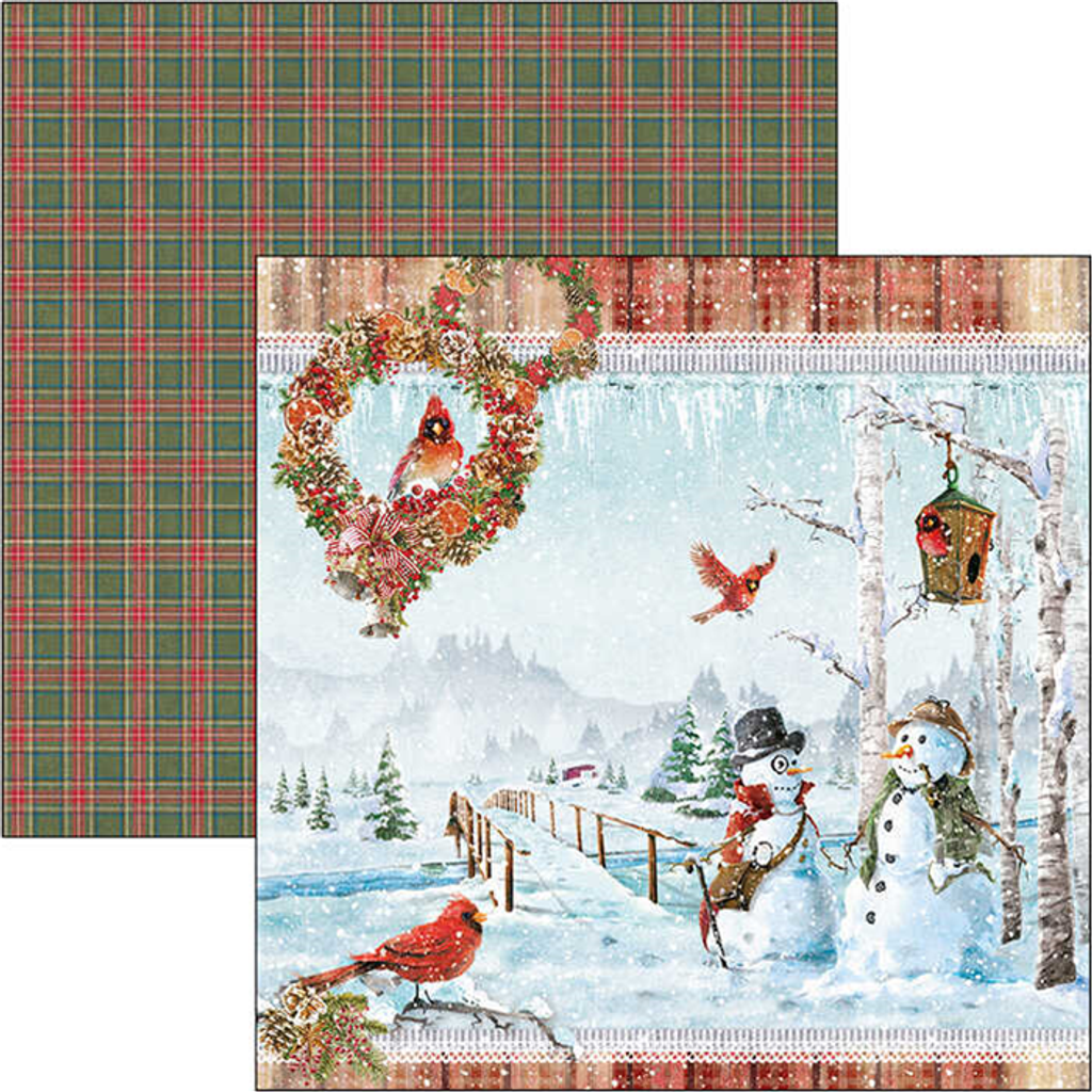 Ciao Bella - Double-Sided Paper Collection 12x12 12/Pkg - Northern Lights (CBPM038)