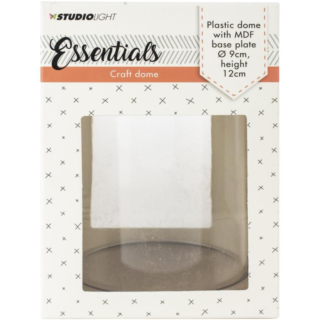 Studio Light - Essentials Plastic Dome W/Base Plate (DOME12)