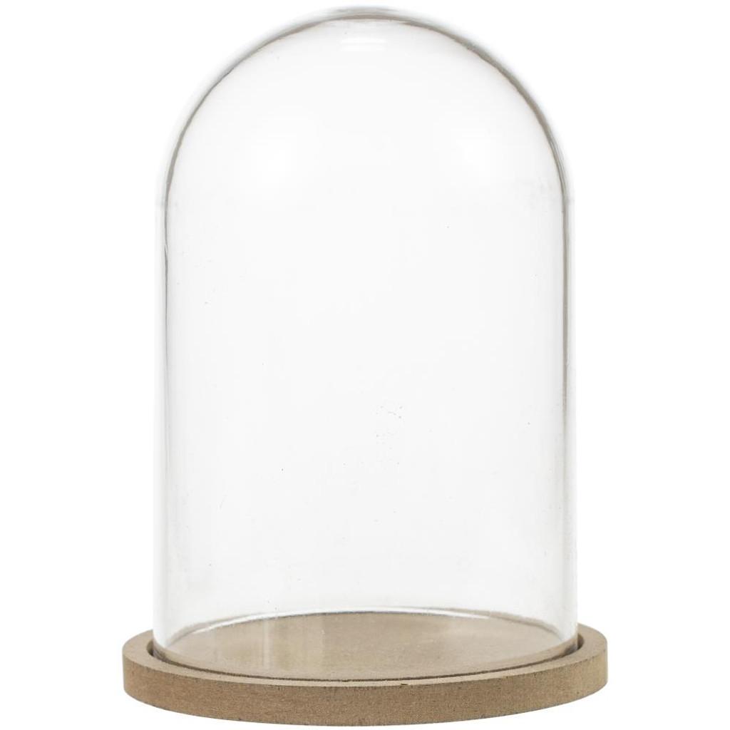 """Studio Light - Essentials Plastic Dome W/Base Plate - 3""""X4"""" (DOME13)"""