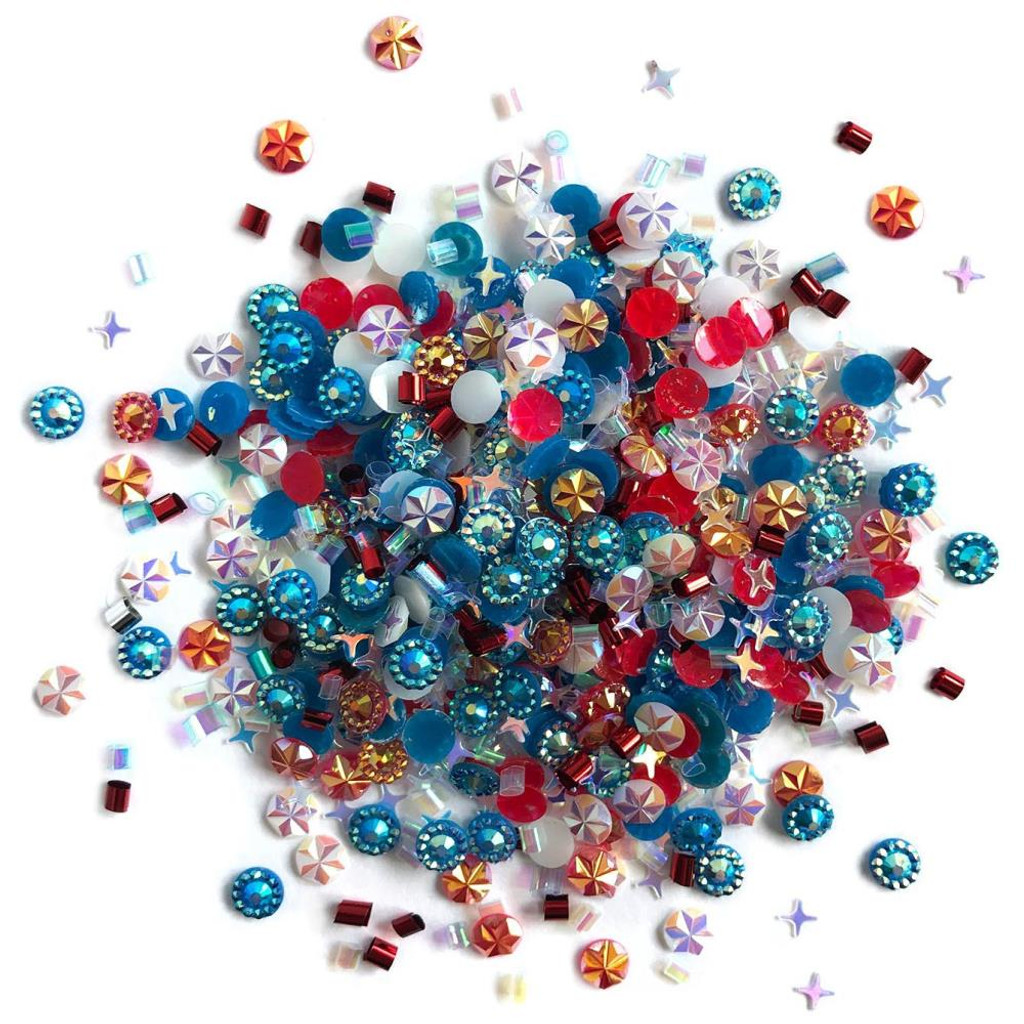 28 Lilac Lane / Buttons Galore - Doodadz Embellishments - Yankee Doodle (DOODADZ - DD110)