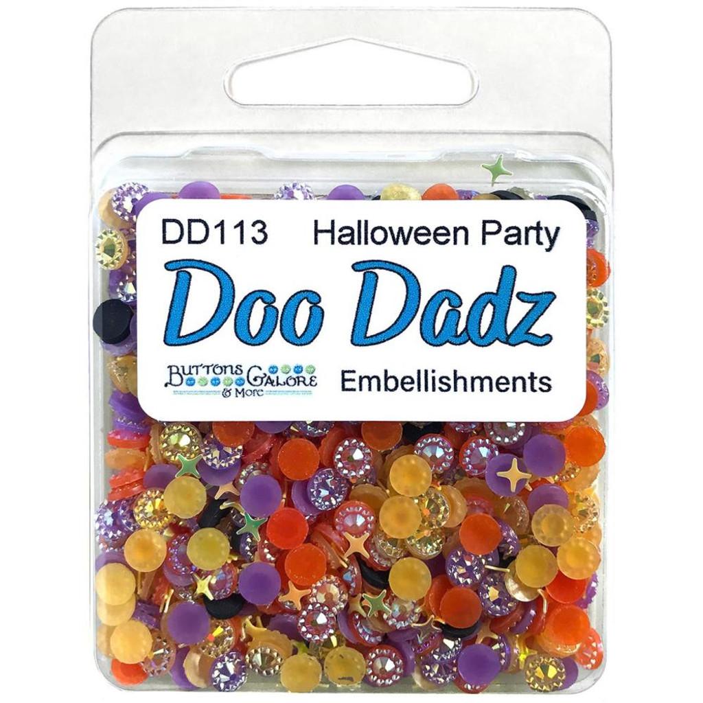 28 Lilac Lane / Buttons Galore - Doodadz Embellishments - Halloween Party ( DOODADZ - DD113)