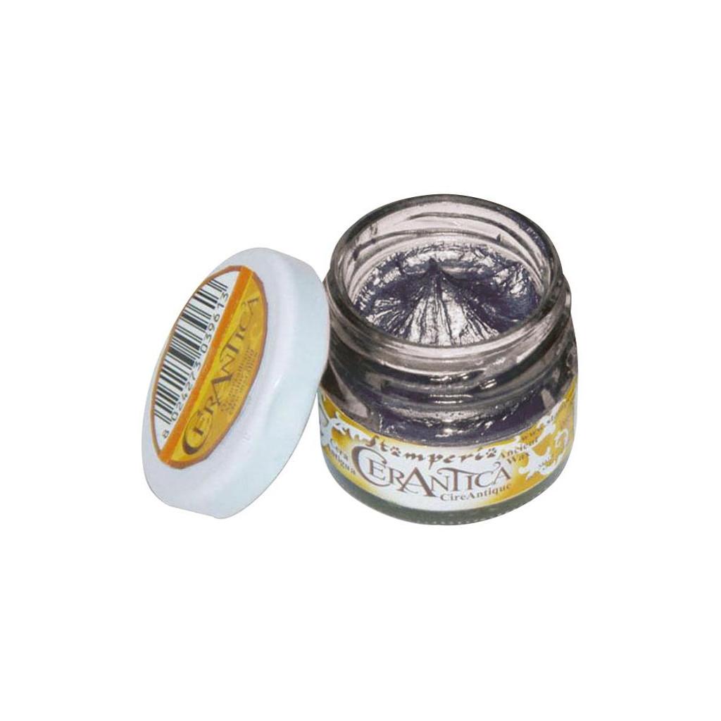 Stamperia - CerAntica Ancient Wax 20ml - Black Silver (K3P15M)