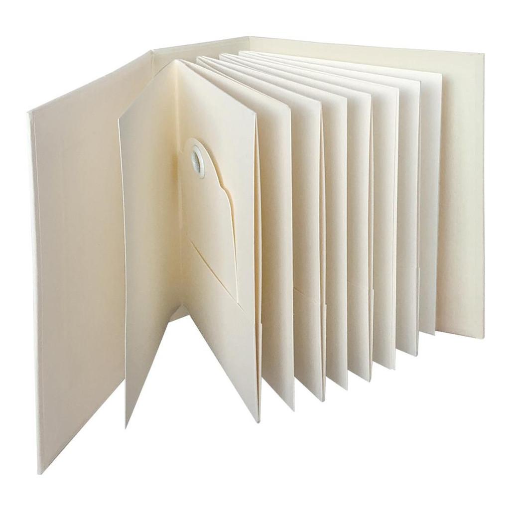 Graphic 45 Staples - ATC Rectangle Tag & Pocket Album - Ivory (G4501813)