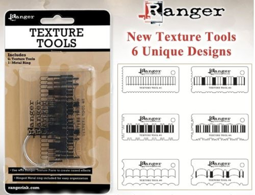 Ranger Texture Tools 6 Piece Set (3344567)