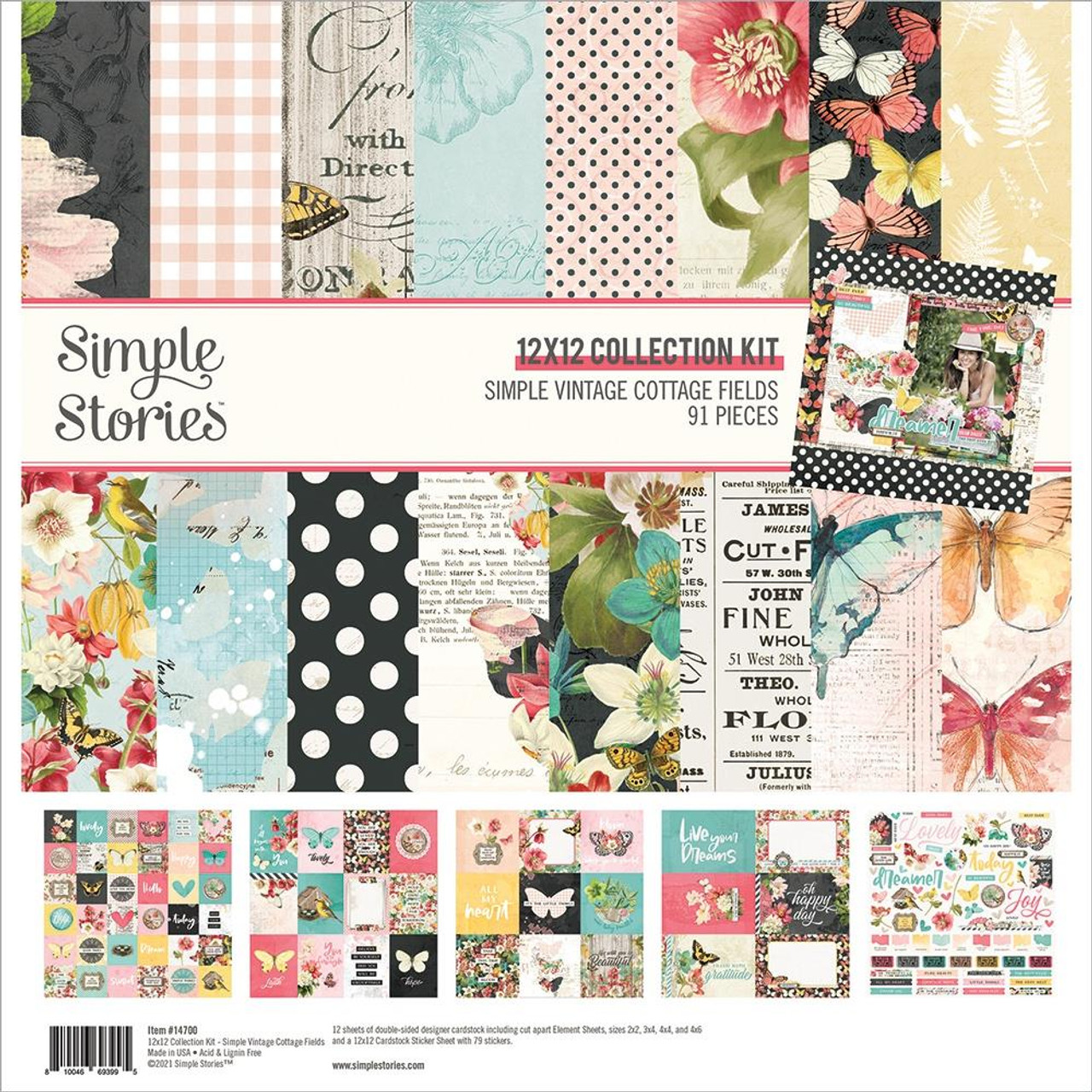 DREAM BIG-12X12 Collection Kit by Simple Stories