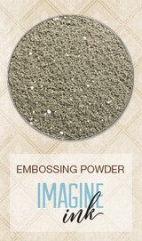 Blue Fern Imagine Ink Embossing - Black Sand (132070)