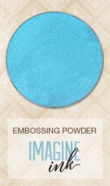 Blue Fern Imagine Ink Embossing - Blue Sky (107474)