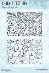 Blue Fern Studios - Clear Stamp - Crackle Textures (127274)
