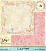 Blue Fern Studios - Double-Sided Paper 12x12 - Frolic - Allegro