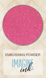 Blue Fern Imagine Ink Embossing - Raspberry (107276)
